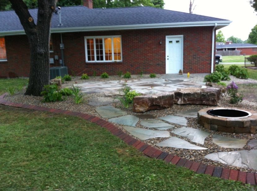 Before and After Backyards - Landscaping Network on Backyard Patio Designs With Fire Pit  id=81726