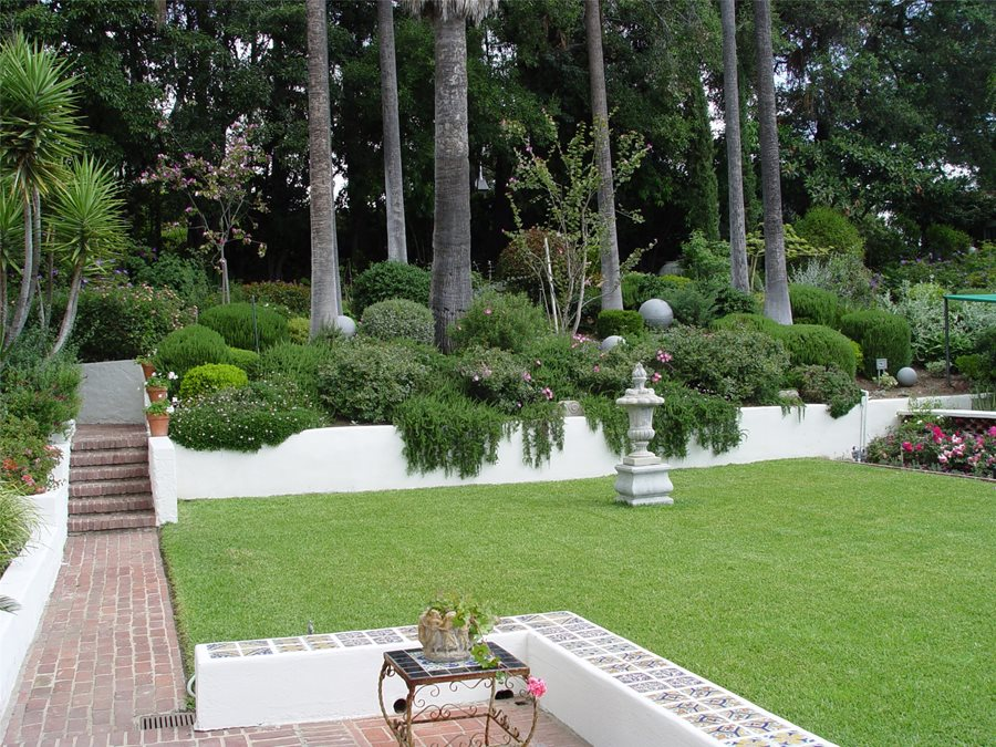 Hillside Landscaping - How to Landscape a Slope ... on Downward Sloping Garden Ideas id=92142