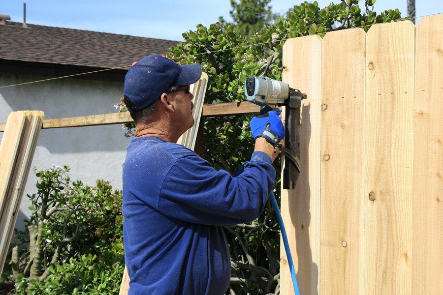 Building Garden Fence Deer