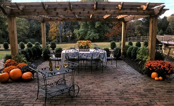 Brick Patio Ideas - Landscaping Network on Small Backyard Brick Patio Ideas  id=41826