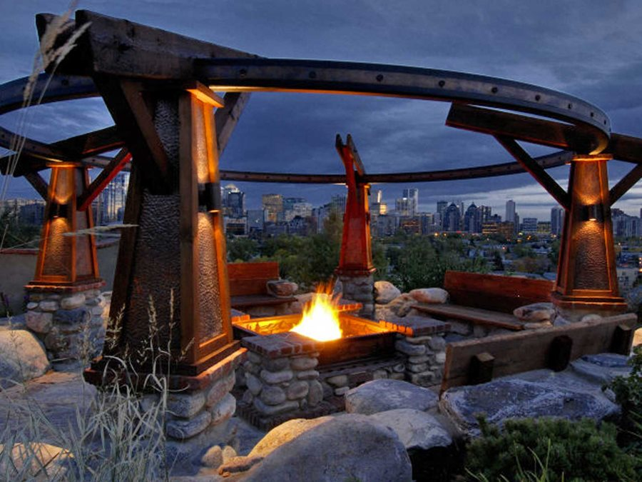 Calgary Garden Offers Dramatic Views Landscaping Network