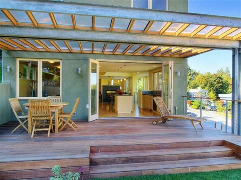 Modern Patio Cover Design Ideas - Landscaping Network on Backyard Overhang Ideas  id=38896