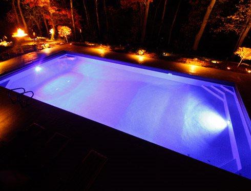 swimming pool lighting ideas