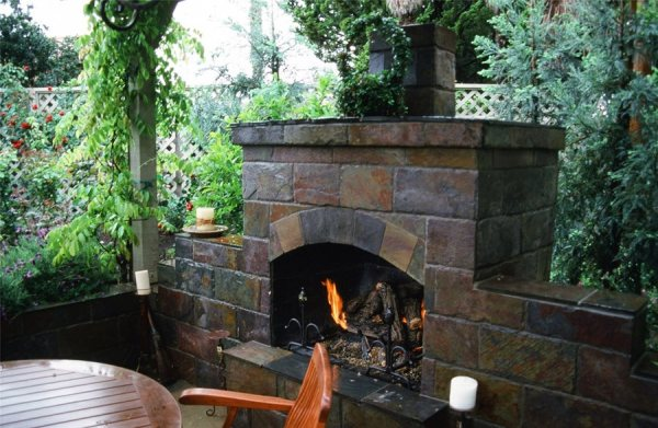 small outdoor patio fireplaces Outdoor Entertaining Spaces - Landscaping Network