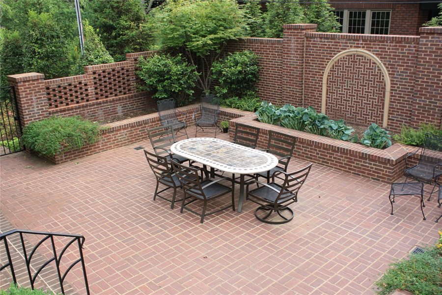 Brick Patio Ideas - Landscaping Network on Small Backyard Brick Patio Ideas  id=35355