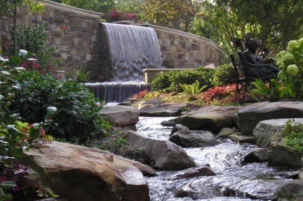 Garden Pond Design Ideas - Landscaping Network on Backyard Stream Ideas id=37034