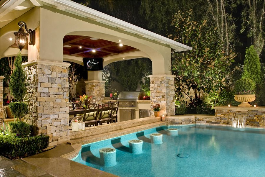 Backyard Cabana Design - Landscaping Network on Cabana Designs Ideas id=72072