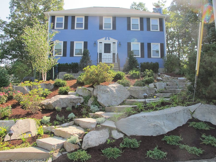 Front Yard Hill Landscaping Ideas - Landscaping Network on Terraced Front Yard Ideas id=36430