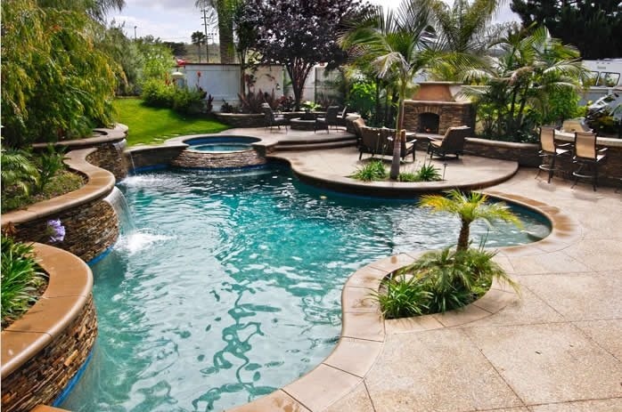 Tropical Landscaping Ideas - Landscaping Network on Tropical Backyard Landscaping  id=62591