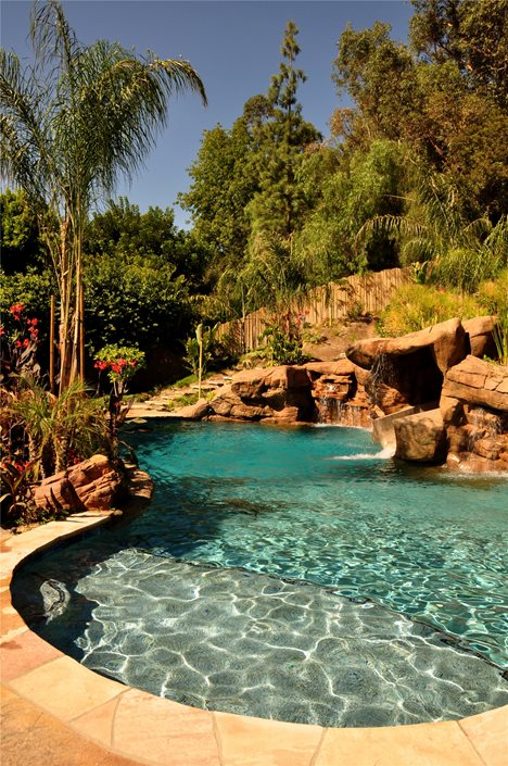 Tropical Landscaping Ideas - Landscaping Network on Backyard Pool Landscape Designs id=30359