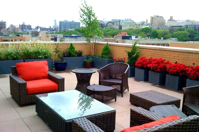 Rooftop & Balcony Garden Tips - Landscaping Network on Terraced House Backyard Ideas id=29785