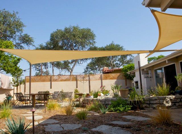 backyard shade sails landscaping network
