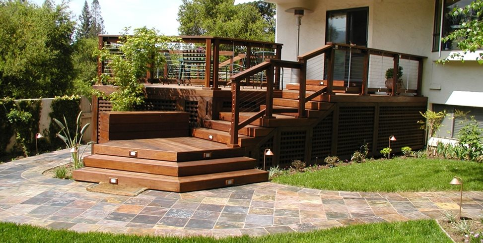 Deck Designs and Ideas for Backyards and Front Yards ... on Backyard Wood Patio Ideas id=83889