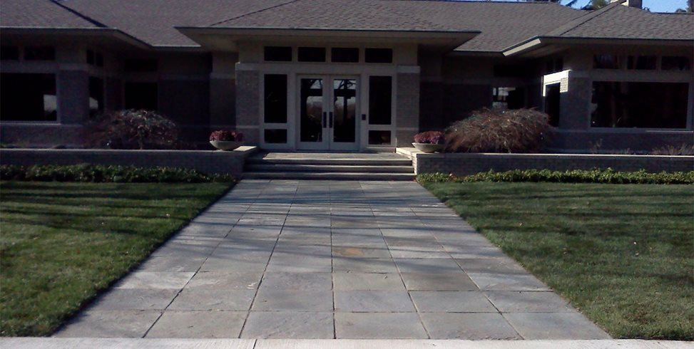 flagstone walkway ideas pictures