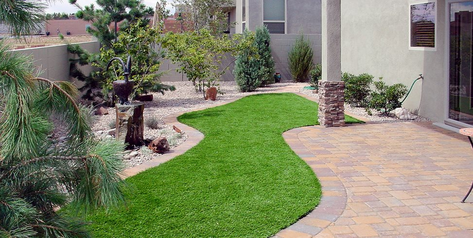 Lawn Planning & Design - Landscaping Network on Artificial Grass Backyard Ideas  id=40638