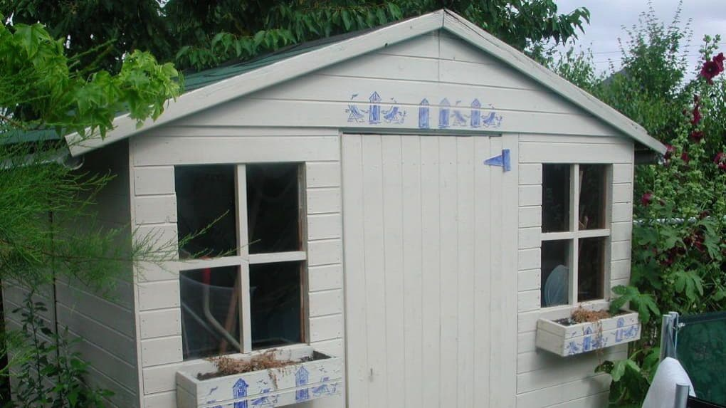 taxe sur les cabanes de jardin