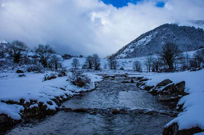 En images : l'hiver, le vrai en Vallée d'Ossau