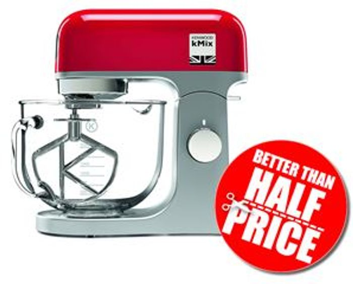kenwood kmix stand mixer 1000 w red