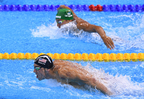 Michael Phelps wears MP Xceed goggles.