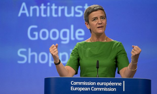 European Union Commissioner for Competition Margrethe Vestager
