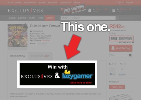 Your last chance to enter our Duke Nukem competition! 4