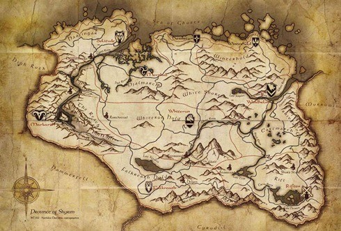 Skyrim-Map