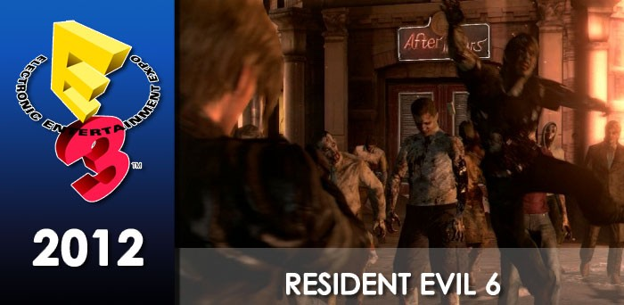 E3 2012: This is not a lucky day for Leon in Resident Evil 6 2