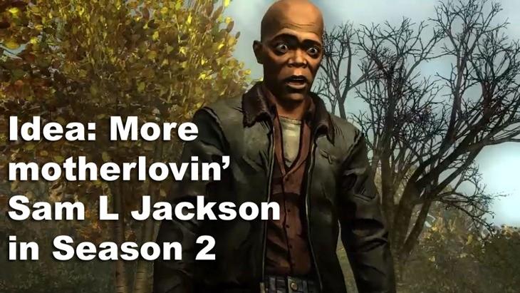 Sam Jackson Walking Dead copy