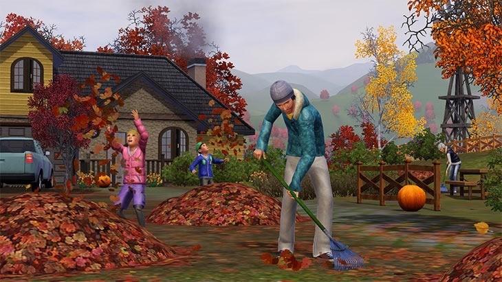 SimsSeasonsfall