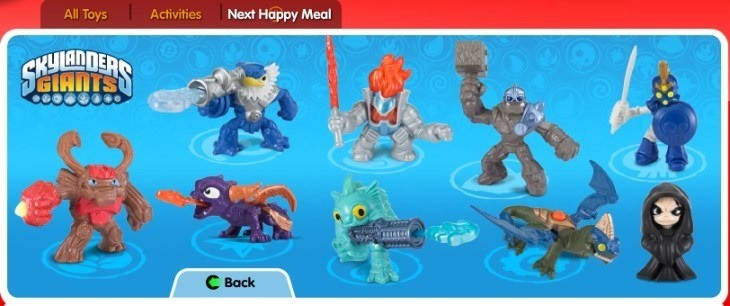 SkylandersHappyMeals