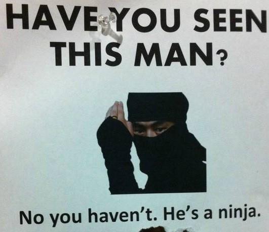 seen this ninja