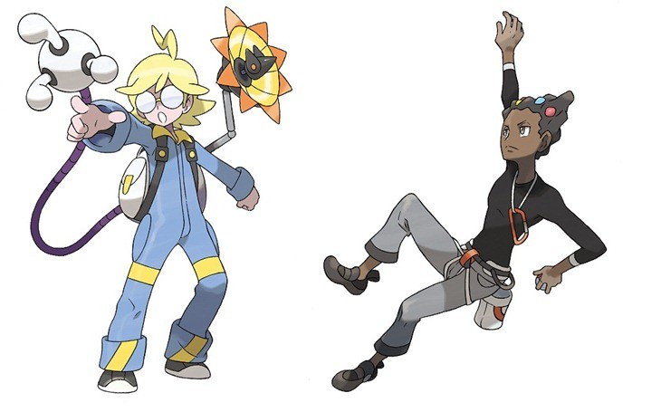 Clemont and Grant