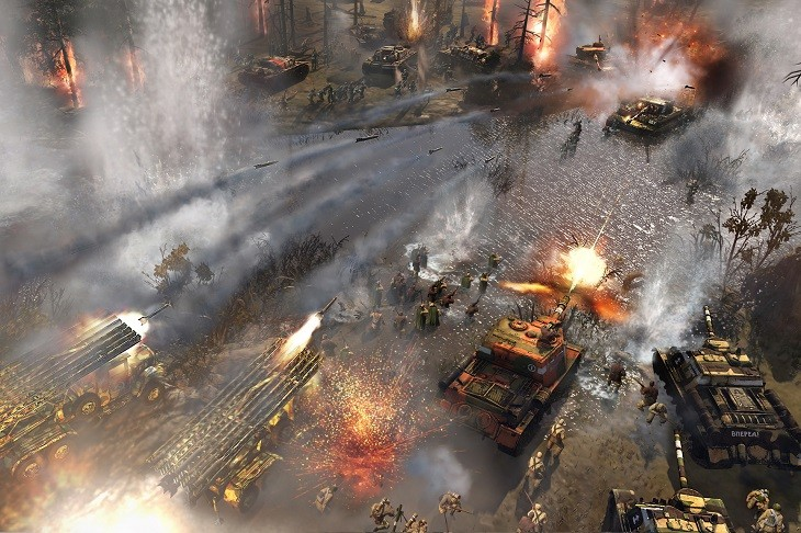 Company of Heroes 2 Rain of Death
