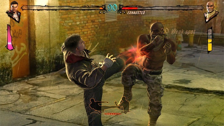 This is Fighters Uncaged, one of the worst games ever made I am not joking