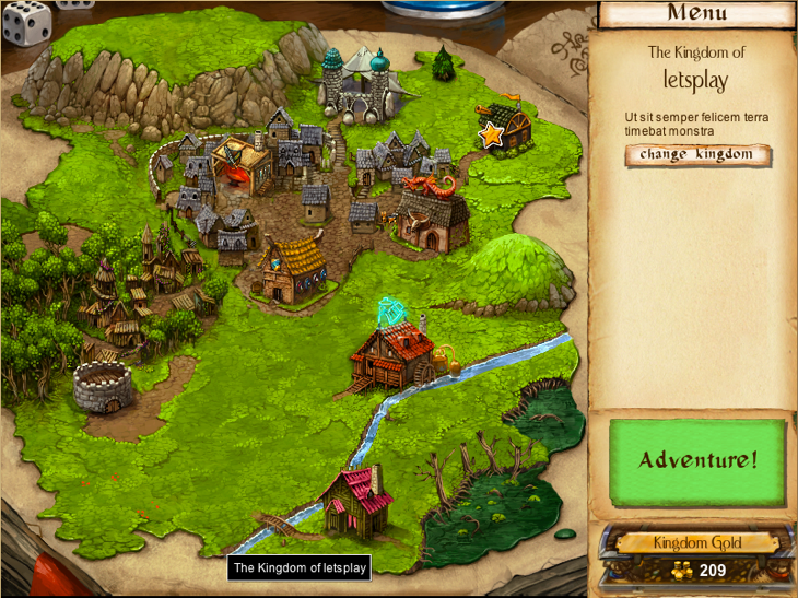 Desktop Dungeons town