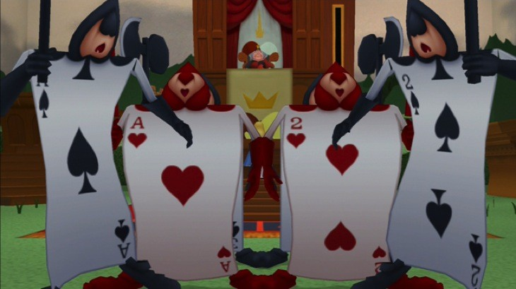 Kingdom hearts wonderland