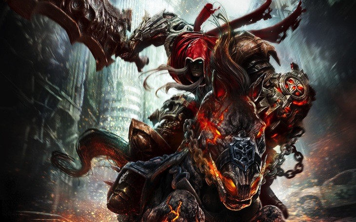 Darksiders Game Background Wallpaper for laptops