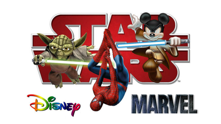 Star Wars Disney Marvel banner