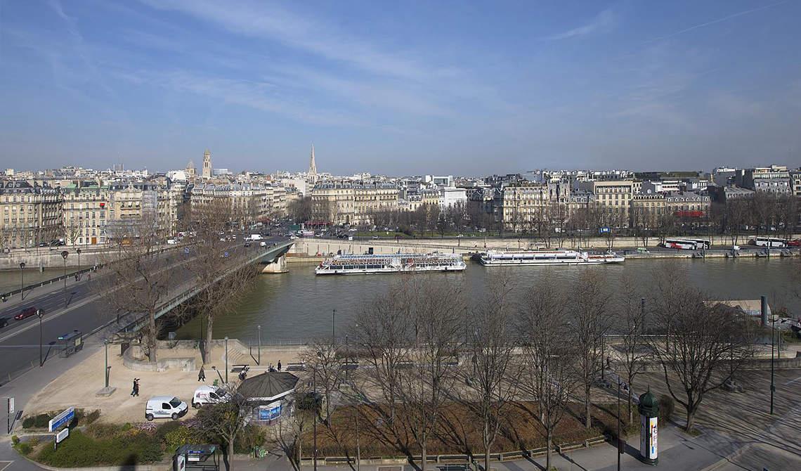 Penthouse with terrace for sale over Seina, 7th arrondissement, Paris - 4