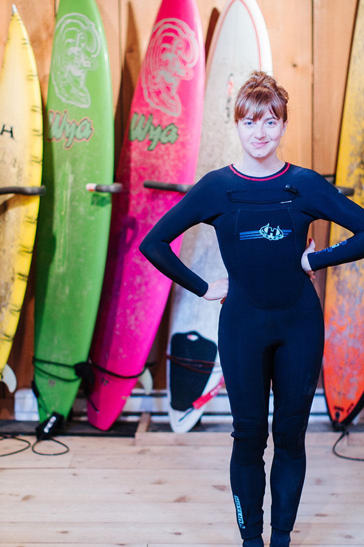 surfing tofino