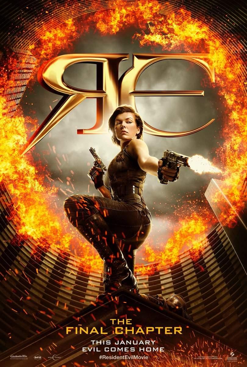 Poster do filme Resident Evil: O Capítulo Final