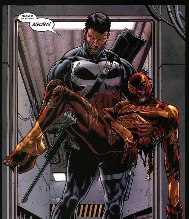 Justiceiro resgata o Homem-Aranha