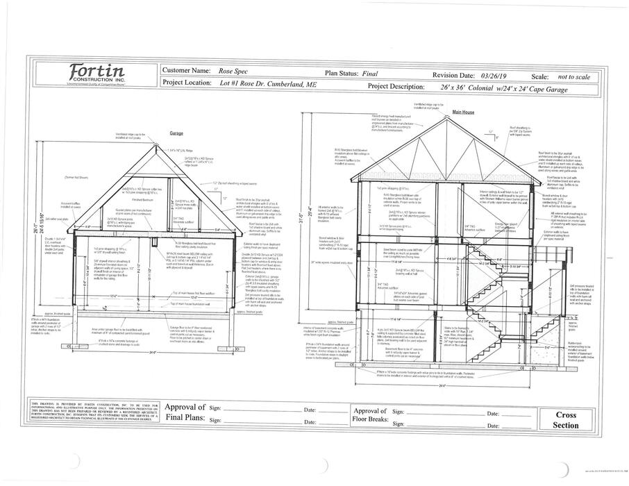 9 Rose Drive Lot 1 Cumberland Me Is For Sale