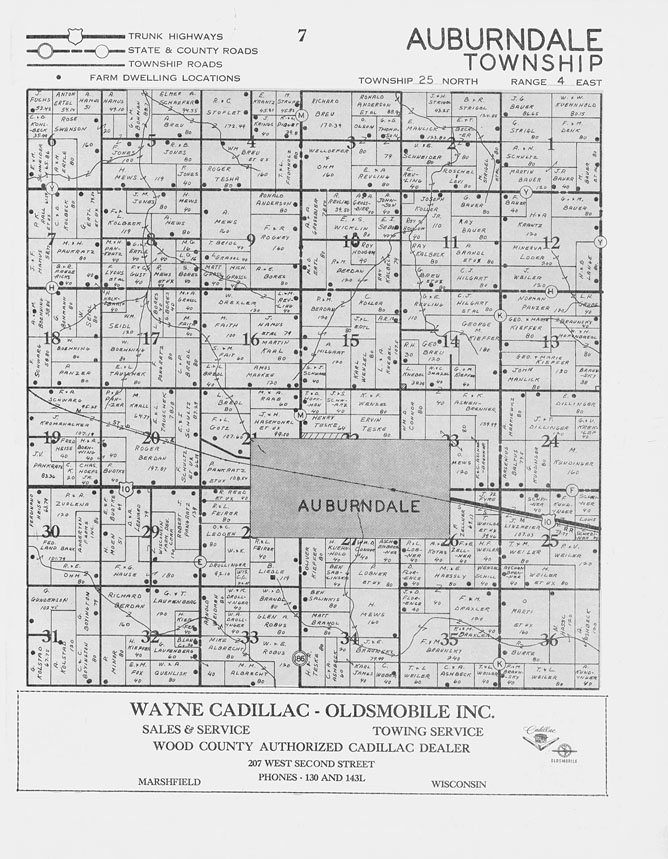 Crawford County Michigan Plat Map