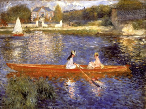 Boating on the Seine by Pierre-Auguste Renoir