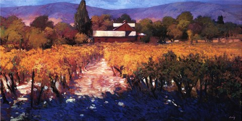 Vineyard Afternoon by Philip Craig