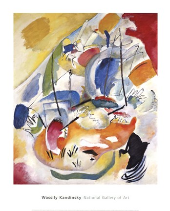 Improvisation 31, c.1913 (sea battle) by Wassily Kandinsky