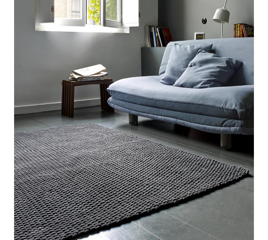 rope de ligne roset tapis du designer