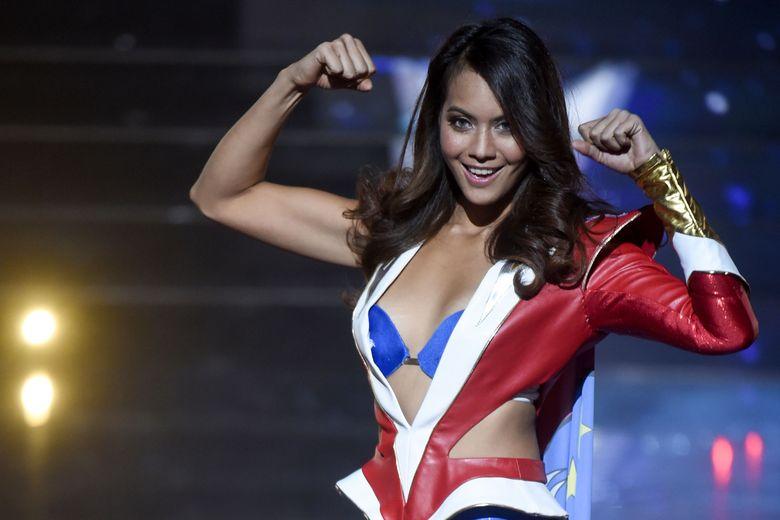 Miss Tahiti Vaimalama Chaves Lue Miss France 2019 16