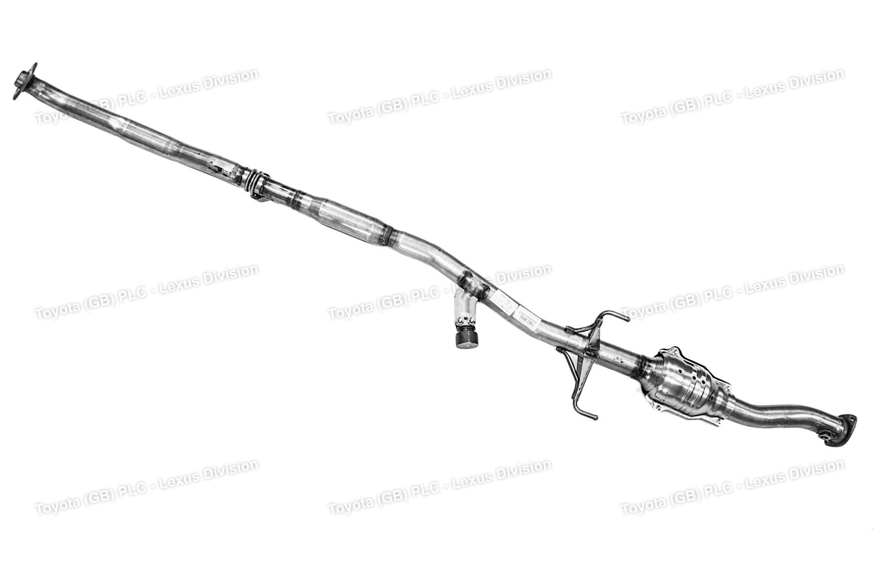 Genuine Toyota Rav4 Exhaust Center Pipe Assembly